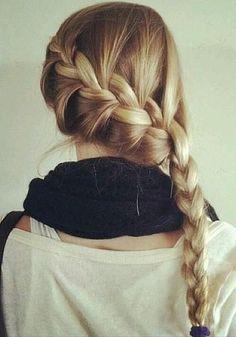 braid for summer // tres cute!