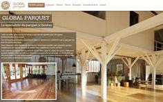 Global Parquet fait confiance à l'agence Web4 pour la création de son nouveau site internet www.geneve-parquet.ch en ligne maintenant!