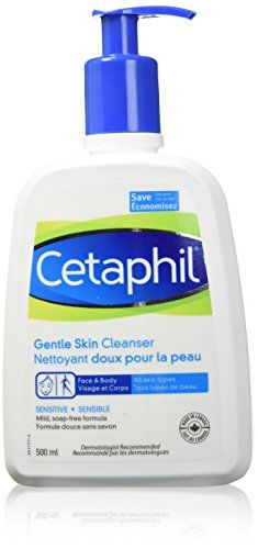 Back To School Everyday Beauty Essentials * The Things I Wish I Knew Face Wash, Body Wash, Cosmetic Info, Dry Sensitive Skin, Cetaphil, Health And Beauty Tips, Beauty Essentials, Face And Body, Cleanser