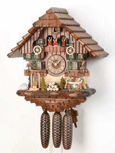 Blackforest Cuckoo Clock (oduncu ve köpek içermeli, değirmen ve ceylan da olabilir.)