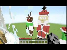 [Popularmmos - Minecraft ] BURNING SANTA! SURVIVE IN SANTA, REINDEER, & ...