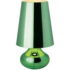 Kartell Cindy Table Lamp ($350) ❤ liked on Polyvore featuring home, lighting, table lamps, lamps, green, furniture, colored lamps, kartell, teardrop lights and green table lamp