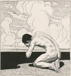 Narrative and illustrations by Ernst Stöhr, from the periodical Ver Sacrum (Mittheilungen der Vereinigung Bildender Künstler Österreichs), December 1899