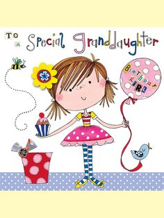 Happy Birthday Granddaughter Quotes and Wishes Grandaughter Birthday Wishes, Happy Birthday Grand Daughter, Happy Birthday To You, Happy Birthday Messages, Happy Birthday Images, Happy Birthday Greetings, Free Birthday, 8th Birthday, Birthday Verses