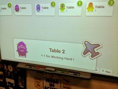 Use Class Dojo to give points to Tables instead of just students. Or teacher vs. students.  Classroom Management.