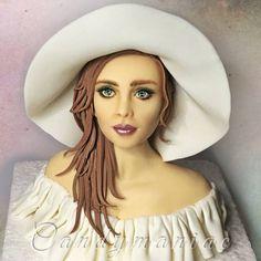 Woman in white - Cake by Mania M. - CandymaniaC - CakesDecor