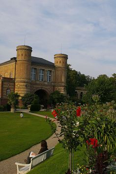 Karlsruhe, Germany - Schloss Garten (Castle Garden) been here so many times! One of the best castles to visit