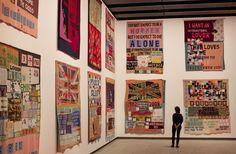 Tracey Emin exhibition Hayward Gallery London By David Levene Tracey Emin Art, Hayward Gallery, Art Du Fil, Jasper Johns, Feminist Art, Feminist Quotes, A Level Art, Marcel Duchamp, Portraits
