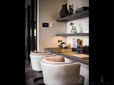 Office Inspiration Workspaces, Bookshelf Design, Modern Interior, Home Office Design, Interior Inspiration, Glamorous Interiors, House Interior, Office Interiors, Home Deco