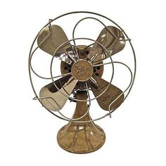 Vintage Polar Cub Electric Fan (€255) ❤ liked on Polyvore featuring home, home decor, fans, standing fans and decor