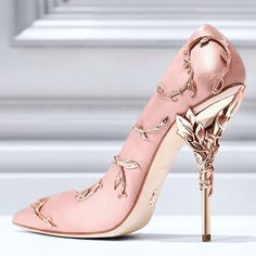 """""""@ralphandrusso are going all in with their shoes! I want a pair of those.  Available at @harrods in more colors."""