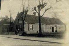 Langestraat voordat AH gebouwd werd