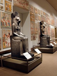 Two Statues of the Goddess Sakhmet Period: New Kingdom Dynasty: Dynasty 18 Reign: reign of Amenhotep III Date: ca. 1390–1352 B.C.