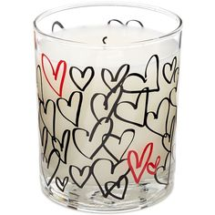 Inc International Concepts Love Heart Candle (£20) ❤ liked on Polyvore featuring home, home decor, candles & candleholders, love, contemporary home decor, inc international concepts, heart candles, heart home decor et heart shaped candles