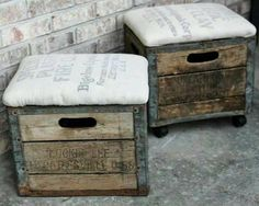 What to do with old crates...