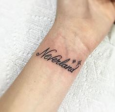 Neverland Peter Pan tattoo