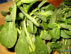 Purslane - Reduces risk of heart disease and stroke
