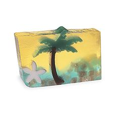 Paradise Sunset Bar Soap by Primal Elements. The tropics are at your fingertips with this soap! Enjoy the luscious aromas of coconut and banana.