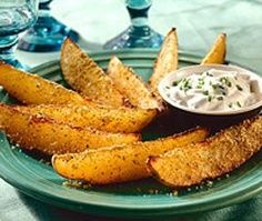 Free Weight Watchers Recipes - Herbed Potato Wedges ~ WW Points+ 1 per wedge