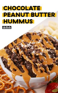 PSA! Chocolate Peanut Butter Hummus ExistsDelish