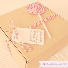 Haz un regalo que al protagonista le encante ¡antes de abrirlo!