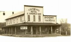 Coleman's corner in Cedar Lake IN - the site is now home to an Ace Hardware store.