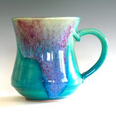 Totally want one of her mugs for Christmas! Porcelain Coffee Mug, handmade ceramic cup, coffee cup