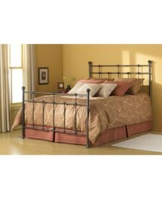 Claremont Hammered Brown Metal Bed