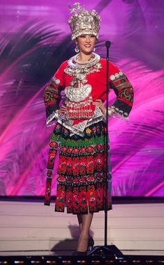 Miss China from 2014 Miss Universe National Costume Show | E! Online