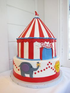 circus props | Pin Circus Party Photo Prop Supplies For Sale Lets Celebrate Cake on ...