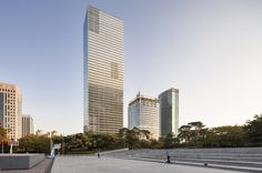 #SustainableAward entryFKI Tower #Korea by Adrian Smith + Gordon Gill Architecture © Namgoong Sun