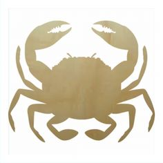 Crab Style3 Wooden Shape