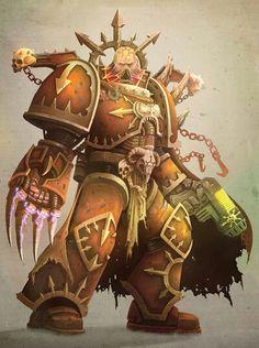 Warhammer 40k Chaos Space Marine
