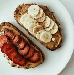 Breakfast toast nutella 22 super ideas snacks with nutella Think Food, I Love Food, Good Food, Yummy Food, Tasty, Breakfast Toast, Nutella Breakfast, Breakfast Ideas, Breakfast Healthy