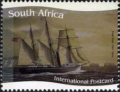 Stamp: Dane (South Africa) (Ships of the Union Castle Line) Mi:ZA 1769,WAD:ZA030.07