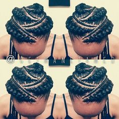 goddess braids updo - Google Search