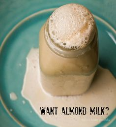 Fast, Easy Almond Milk! Creamy Chocolate   Coconut Cinnamon... Fast method for almond milk
