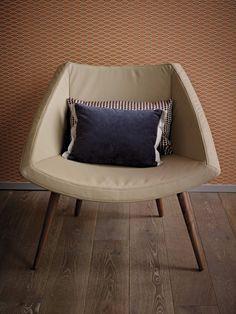 Pfister Armchair Box Wood, Decorative Retro Pillows