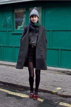 short hemline skirt