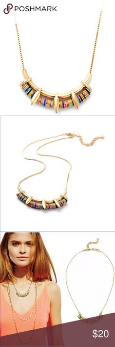 Pretty Necklace (new) Zinc alloy colorful Necklace, great for layering. Brand new in package. Price firm unless bundled Jewelry Necklaces
