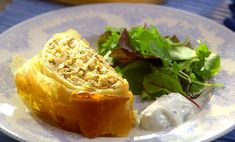 """Mary Berry served up a tasty Russian salmon and herb coulibiac dish on Mary Berry's Foolproof Cooking. Mary says: """"This dish is perfect party food, and great for feeding a crowd. The cr… Salmon Recipes, Fish Recipes, Seafood Recipes, Cooking Recipes, Mary Berry Salmon, Mary Berry Cooks, Salmon And Rice, Cooking For A Crowd, Fish Dishes"""