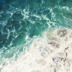 large beach photography // beach canvas set // by SeptemberWren