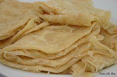 Here in the Caribbean when we talk about roti, we refer primarily to three types: paratha (oil roti, buss-up-shut), sada roti or dhal puri. Roti Paratha Recipe, Paratha Recipes, Roti Recipe Guyanese, Roti Skin Recipe, Jamaican Roti Recipe, Carribean Food, Caribbean Recipes, Trinidad Roti, Guyana Food