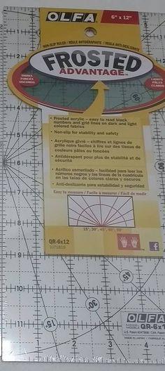 """Veja nosso novo produto Régua para patchwork Olfa 6""""x12"""" importado pelo Ateliê Balaio de Gatos! Se gostar, pode nos ajudar pinando-o em algum de seus painéis :)"""