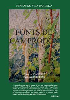 Portada Fonts de Camprodón - Ferran Vila
