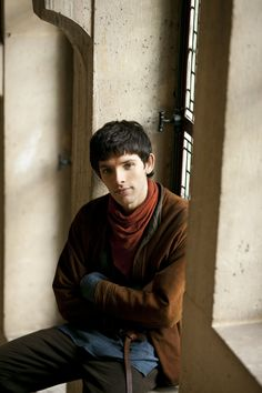 "Merlin S2 Colin Morgan as ""Merlin"""