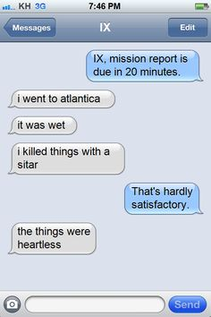 """Demyx would totally do this"" Organization XIII texts needs to be a thing."