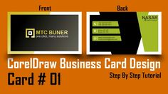 How to make a business card in coreldraw professional 3d card how to make business card in coreldraw professional 3d card design reheart Gallery