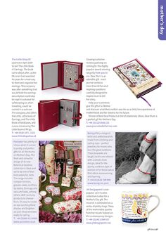 Gift Focus Magazine Issue 93 January / February 2016 featuring our Botanical Garden Giftware Range for Mother's Day