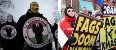 Anonymous vs the Westboro Baptist Church